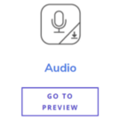 Audio Content Type Buttons