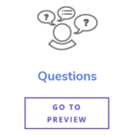 Questions Content Type Buttons