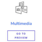 Multimedia Content Type Buttons